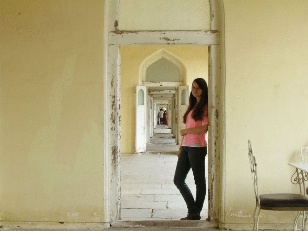 JACLYN PROCTOR - Traveled to India